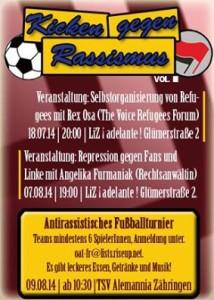 3. Kicken gegen Rassismus in Freiburg