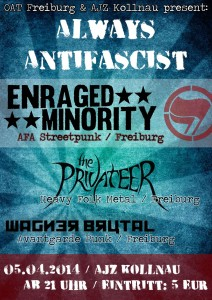 "Konzert: ""ALWAYS ANTIFASCIST"""