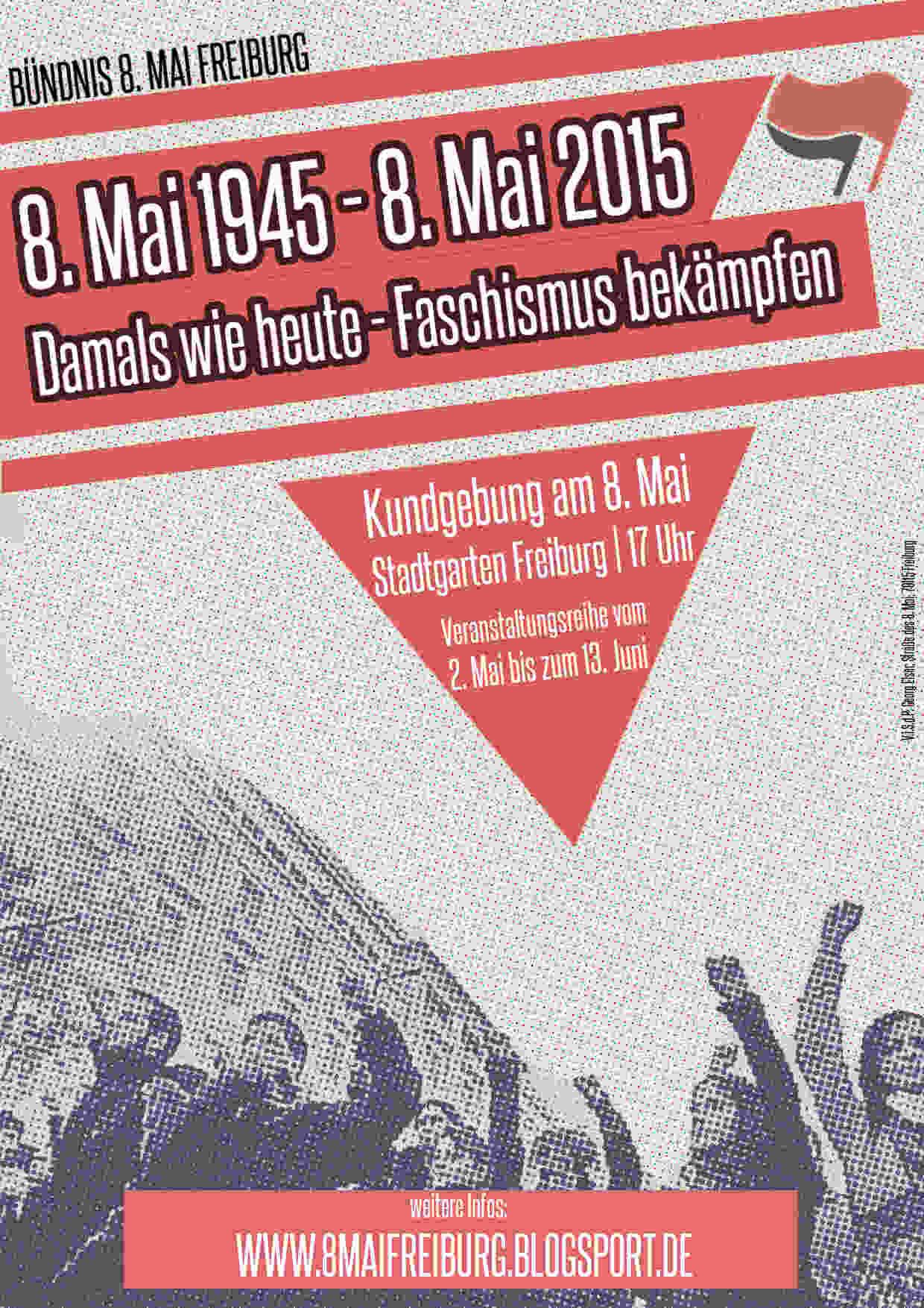 Kampagne 8.Mai 2015 – 70 Jahre Tag der Befreiung