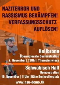 2.11. Naziterror und Rassismus bekämpfen! Verfassungsschutz auflösen!