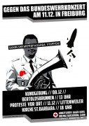 Aufruf: Gemeinsam gegen das Bundeswehr-Konzert in Freiburg