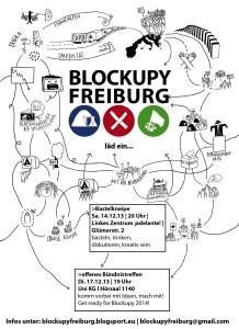 Blockupy Freiburg lädt ein: Offenes Treffen am 17.12.