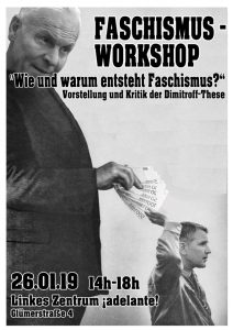 Workshop: Faschismustheorie
