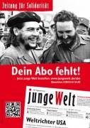 """Linke Tageszeitung """"junge Welt"""" in Gefahr"""